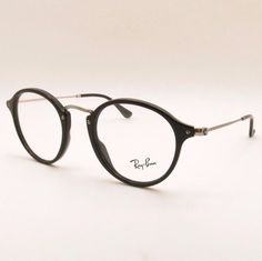 Ray Ban RB 2447 V 2000 Black RX Frame New Authentic  RayBan  Round Round 69465fda0d61