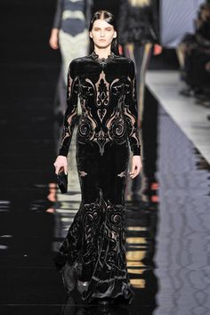 Etro Fall 2012 Runway - Etro ready-to-wear collection. (ELLE)