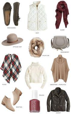 12 Fall Fashion Essentials | bright and beautiful | Chicago Fashion + Lifestyle Blog