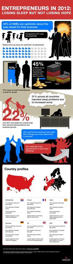 2012: How The Economy Affected Entrepreneur Attitudes [Infographic]