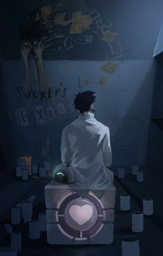 portal 2 In the end by ~biggreenpepper on deviantART