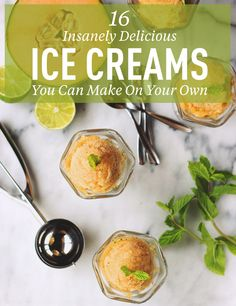 16 Ice Cream and Sorbet Recipes You Can Make Without an Ice Cream Maker