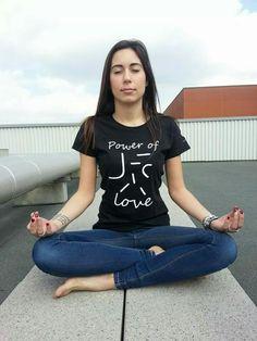 Onde di forma per il tuo benessere..ecco la T-shirt LOVE