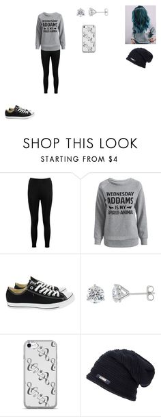 """""""Untitled #434"""" by nala1220 on Polyvore featuring Boohoo and Converse"""