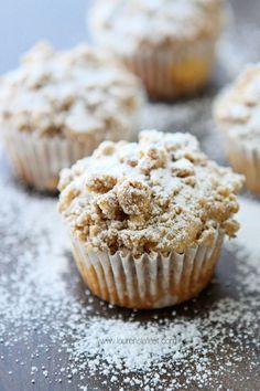 Cream Cheese Crumb Filled Muffins - Lauren's Latest