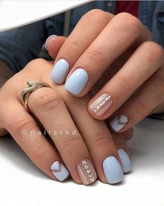 Gel Nail Designs You Should Try Out – Your Beautiful Nails Nail Art Hacks, Nail Art Diy, Diy Nails, Dry Nail Polish, Glitter Nail Polish, Subtle Nails, Nail Pops, Different Color Nails, Gel Nail Art Designs