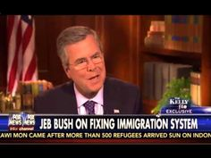 Jeb Bush and Megyn Kelly FULL Interview On Immigration, Muhammad, 2016