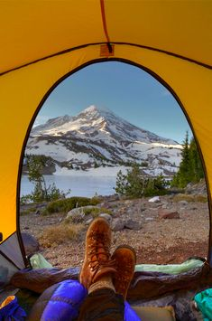 Backpacking near Camp Lake and South Sister in Oregon's Three Sisters Wilderness Area. Image available at Pacific Crest Stock photography.
