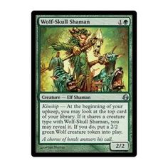 £0.49. Now, this one is questionable. Not sure if I have enough Elves to make him viable. But possibly. He's cheap enough to go for. Also combo with the Woodland Changeling and Chameleon Colossus