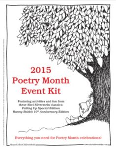 Poetry Month 2015 Event Kit from Shel Silverstein. Teaching Poetry, Teaching Writing, Writing Rubrics, Paragraph Writing, Opinion Writing, Persuasive Writing, Poetry Classes, Poetry Lessons, Poetry Activities
