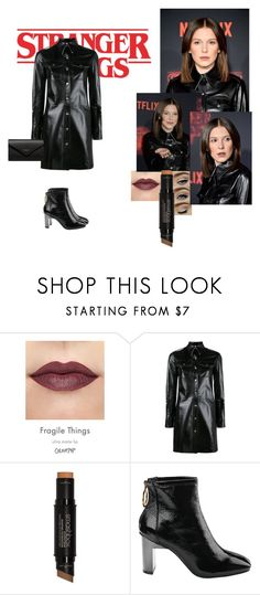 """""""Millie Bobby Brown Stranger Things Inspired Look"""" by tia-jasmine-horrobin ❤ liked on Polyvore featuring Calvin Klein 205W39NYC, Smashbox and Balenciaga"""
