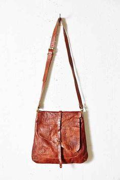 Ecote Double-Flap Messenger Bag
