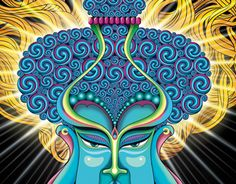 """Check out new work on my @Behance portfolio: """"Buddha with Bodhi Tree - Digital Painting"""" http://on.be.net/1HJm9s1"""