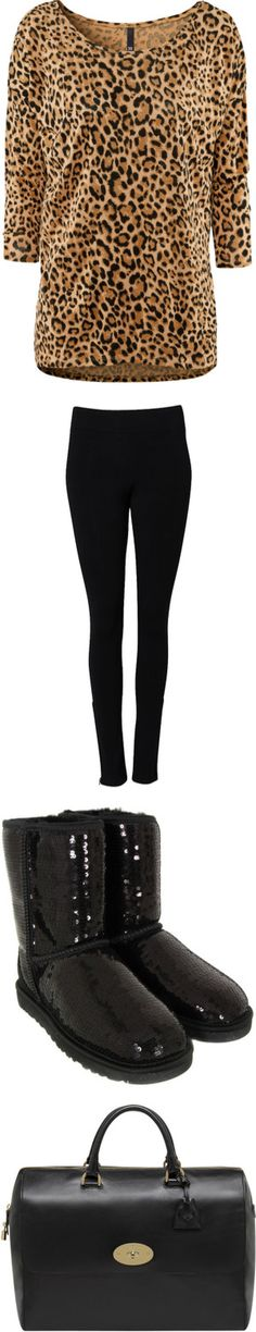 """Legging Look #13"" by sarratori ❤ liked on Polyvore"