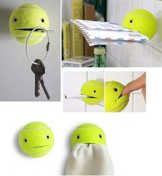 tennis ball friend
