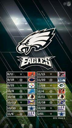 Eagles schedule 2016