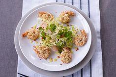James Martin's sesame tiger prawns recipe