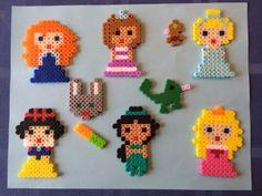 Fuse Bead Princesses