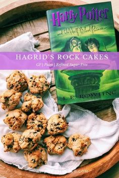 Hagrid's Rock Cakes are a fun Harry Potter-inspired treat fit for wizards and muggles alike. They fit gluten-free, paleo, and refined sugar-free diets. Cupcake Recipes, Cookie Recipes, Dessert Recipes, Paleo Recipes, Baking Recipes, Free Recipes, Easy Recipes, Easy Desserts, Delicious Desserts