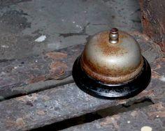 Vintage Antique Hotel Desk Bell 1950s