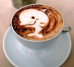 Dolphin Latte Art