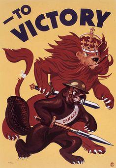 Canadian Second World War Propaganda Posters & Sketchs. - Canada at War Forums