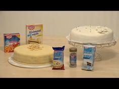 Jak potáhnout dort marcipánem a fondánem - VIDEO Jak se to dělá. Butter Dish, Make It Yourself, Cakes, Youtube, Cake, Pastries, Torte, Youtubers, Tarts