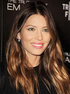 15 Shades of Brown Hair That Are Anything But Blah From the coolest chestnut to the deepest mahogany, these stars show how to unleash your inner brunette bombshell - Jessica Biel