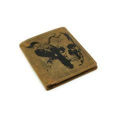 Hnědá pánská peněženka - peněženky AHAL