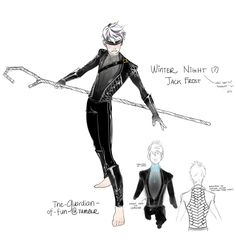 """ Winter Prince Night Jack Frost!"""