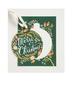 Rifle Paper Co. // Pine Ornament Karte
