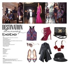 """Destination Runway with Bebe : Contest Entry"" by ashley-lanette-hays on Polyvore featuring Bebe and beiconic"