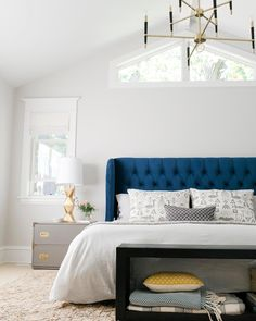 Here's a question for all of you - What do you think about tufted headboards? Are they timeless and classic? OR does it really depend on…