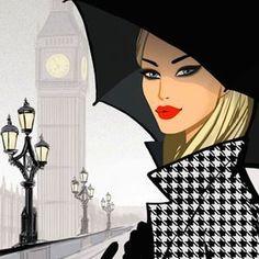 Fashion Illustration Ideas Jason Brooks: Artist and illustrator specialising in fashion, music,design,interiors and lifestyle illustrations. Fashion Art, Trendy Fashion, Girl Fashion, Fashion Design, Fashion Music, Paris Fashion, Illustration Mode, Illustration Artists, London Illustration