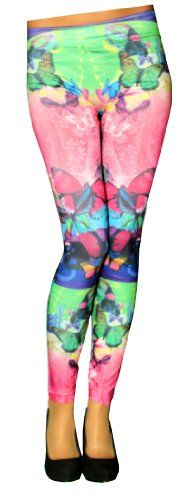 FunLeggings Colorful Butterfly Women's Leggings - SM/MD FunLeggings http://www.amazon.com/dp/B00K597JKU/ref=cm_sw_r_pi_dp_3WnOub0P01A1R