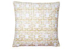 Draper 20x20 Linen Pillow, Gold on OneKingsLane.com