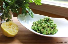 Pea salad with pecans and parmesan by @wellwornfork | Find the Recipe at SideChef.com