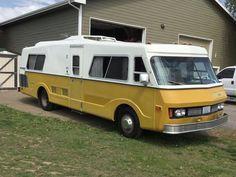 Motorhome Master: 1974 FMC 2900R Motorhome - http://barnfinds.com/1974-fmc-motorhome/