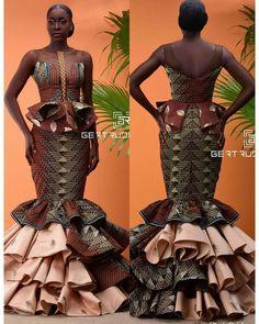 African Fashion – Designer Fashion Tips African Prom Dresses, African Dresses For Women, African Wear, African Attire, African Fashion Dresses, African Women, African Style, African Clothes, Ankara Fashion