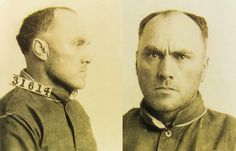 """Carl Panzram, subject of the 2012 documentary """"Carl Panzram: The Spirit of Hatred and Vengeance"""" and author of an autobiography, which was so graphic that it remained unpublished until entitled """"Killer: A Journal of Murder. Got Busted, John Wayne Gacy, Peter Hale, Jeffrey Dahmer, Ted Bundy, Gray Eyes, Lip Sync, Story Characters, Serial Killers"""
