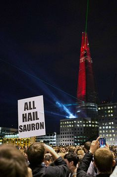 The Shard Is Fully Operational: All Hail Sauron !!