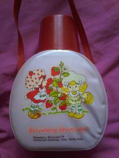 Vintage strawberry shortcake & Lemon Meringue canteen