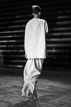 Inspiration for www.duefashion.com Model in Rick Owens, photographed by Clément Louis.