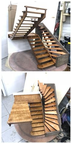 Finally I made them) stairs models.