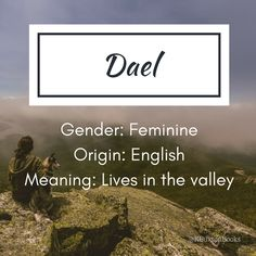 Dael - girl's name