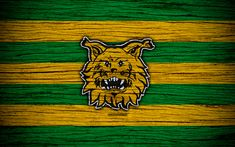 Download wallpapers Ilves FC, 4k, Veikkausliiga, football club, logo, Finnish Premier Division, Finland, Tampereen Ilves, football, wooden texture, FC Ilves