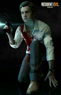 Ethan Winters Resident Evil 7 Biohazard, Resident Evil Costume, Live Action Film, Joker, Ps3, Xbox, Image, Pictures, Gaming