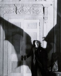 Ricardo Cortez in production still from D.W. Griffith's Faustian tale The Sorrows of Satan (1926)