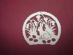Image result for laubsägearbeiten Scroll Saw Patterns, Paper Cutting, Cut Paper, Stencils, Decorative Plates, Wildlife, Woodworking, Crafts, Diy