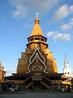 The Church of Saint Nicholas in Izmailovo, Russia.